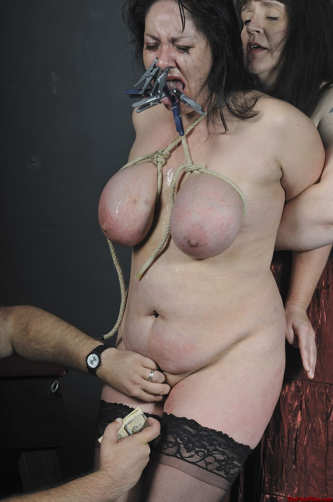 Bdsm young female slave